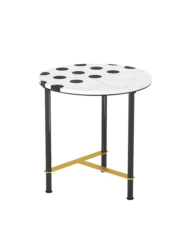 Dice End Table
