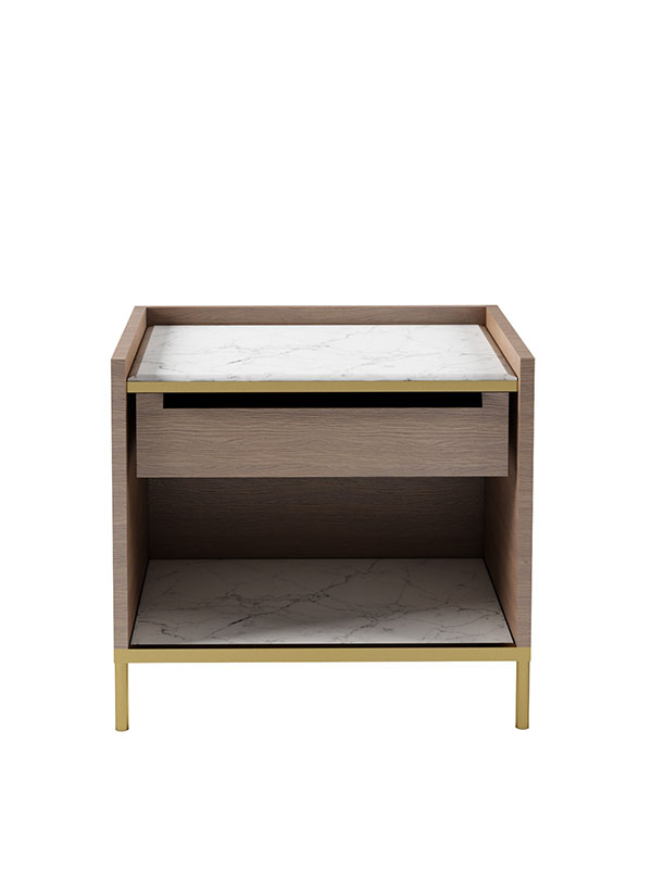 Tray Top Bedside Table