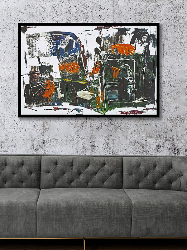 Wall Painting- Buy Home Decor- Bent Chair