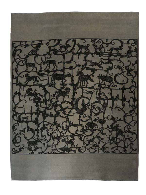 Traverse Turkish Knotted Rug