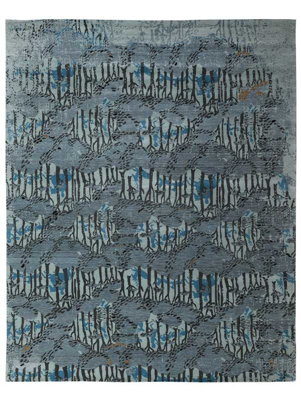 CONCEAL PERSIAN KNOTTED  RUG
