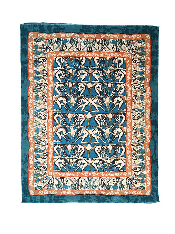 Perception Persian Knotted Rug
