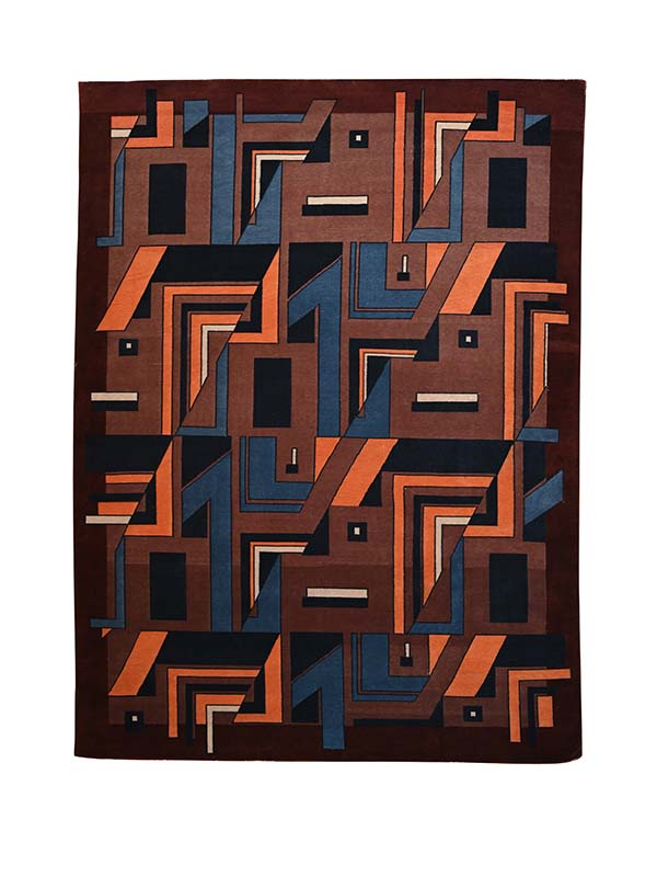 Element Tibetan Knotted Rug