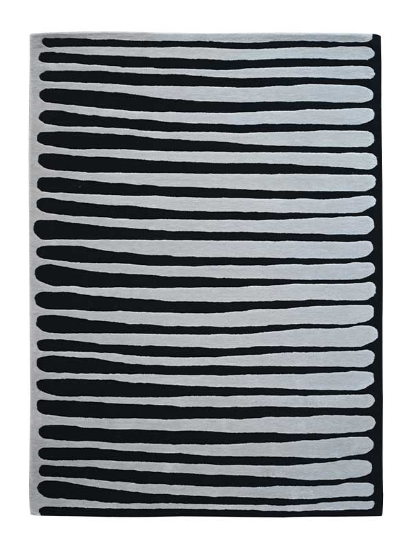 ZEBRA TUFTED RUG