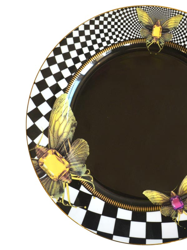 Jewel Anthropod Dining Plate (Set of 4)