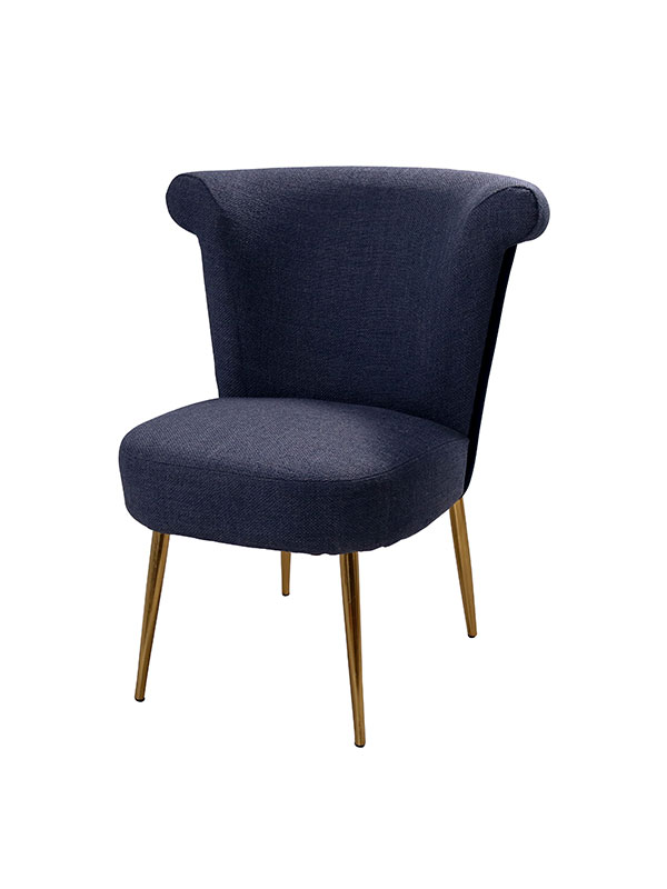 Rocky Star's Ocean Blue Dining Chair