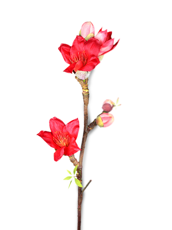 Kapok Floral Stick (Red)