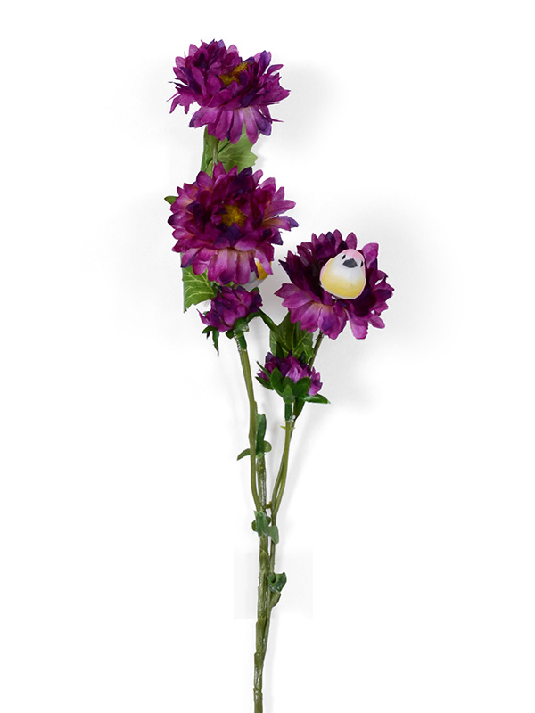 Chrysanthemum Floral Stick (Purple)