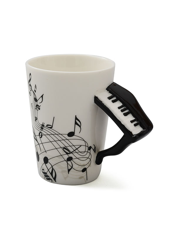 Product Img Piano Handle Coffee Mug