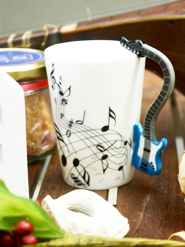 Guitar Handle Coffee Mug