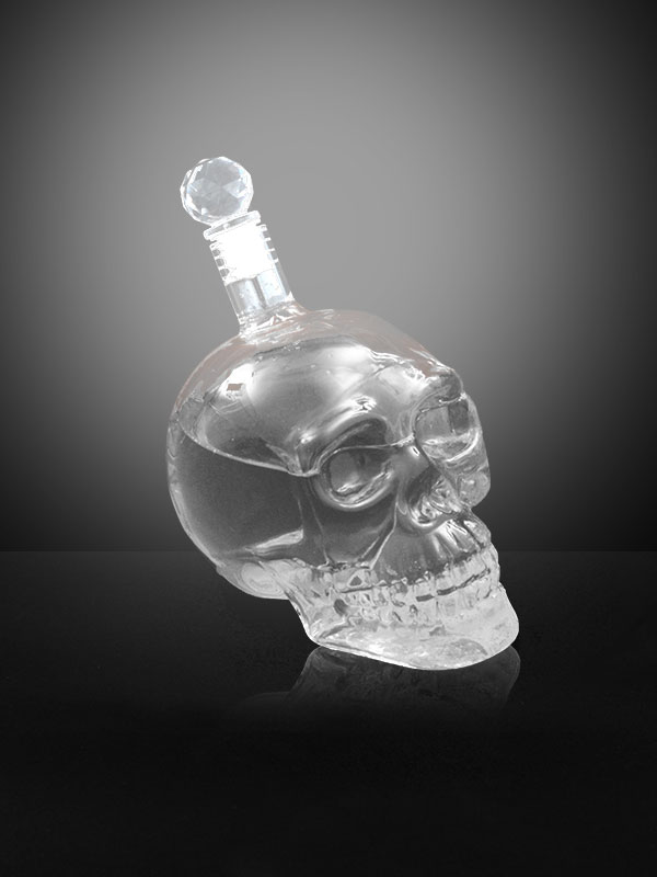 Skull-Face Bottle