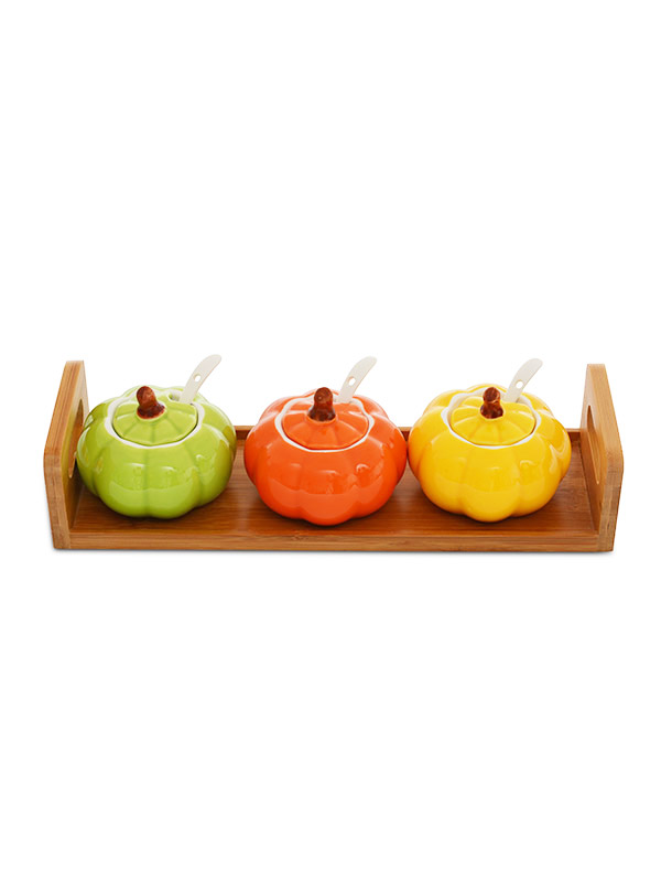 Egbert Dip and Pickle Tray
