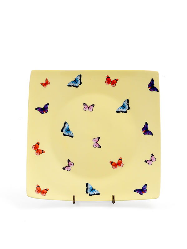 Butterfly Plate (Set of 4)