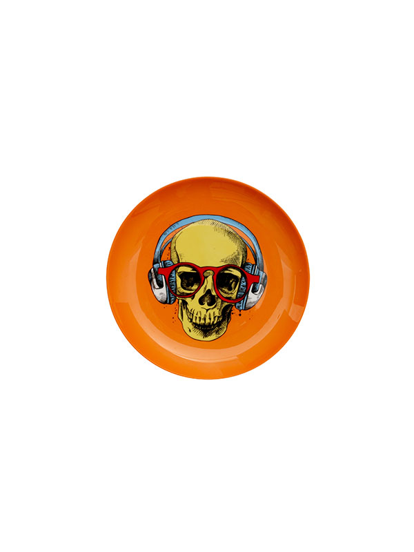 Skull Face Plate (Small) (Set of 4)