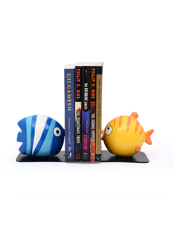 Flounder Bookend Pair