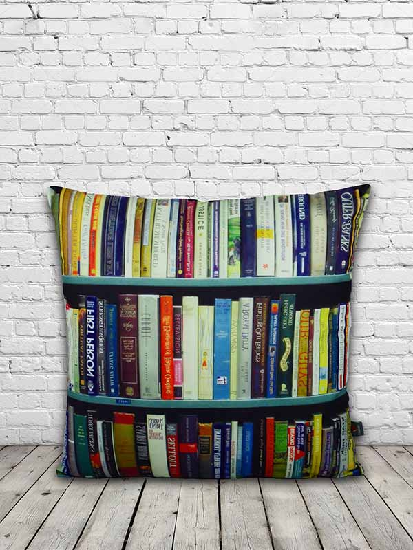 Bibliophile Cushion (Set of 2)