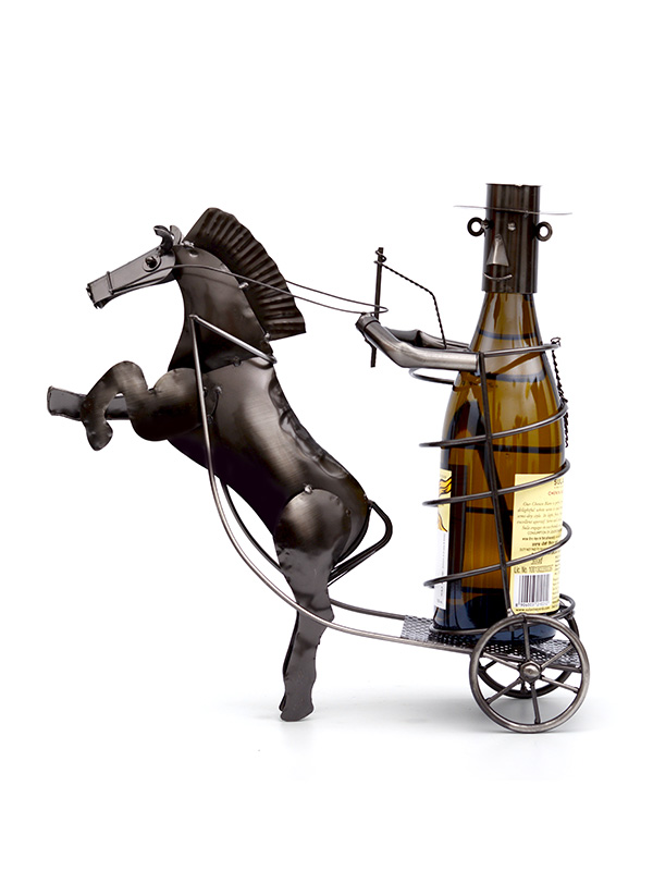 Galloping Horse Wine Holder