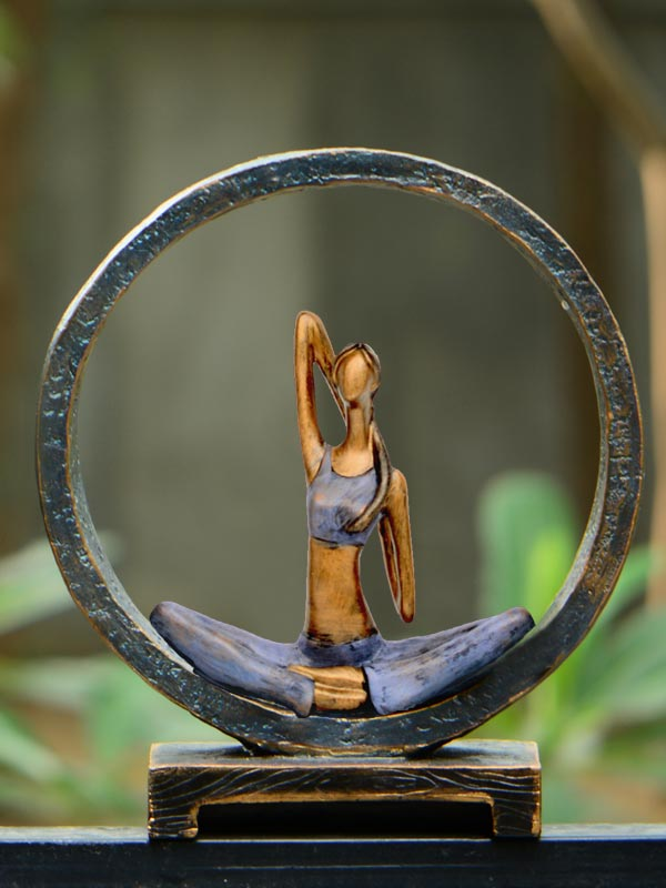Yoga Pose Figurine (Pose 2)