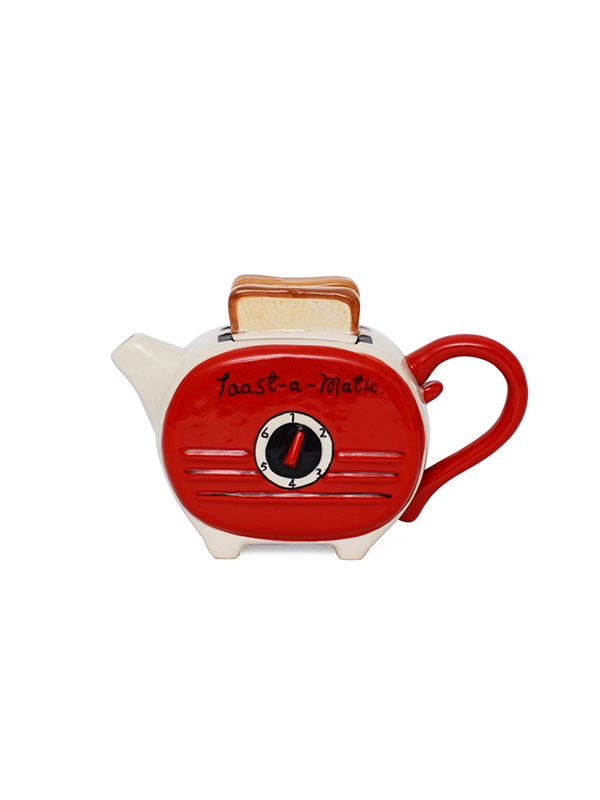 Toaster Teapot (Red) (GIFT)