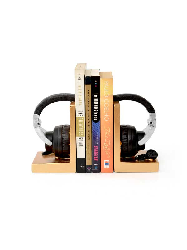 The Headset Bookend