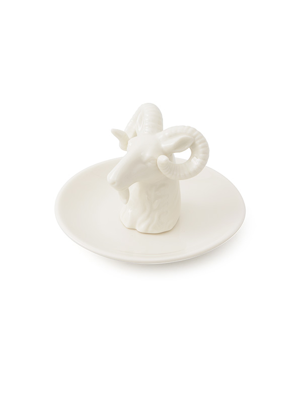Ceramic Sheep Jewellery Plate (Set of 2)