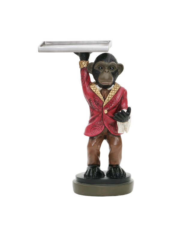Waiter Monkey Card Holder