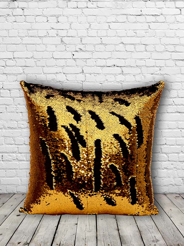 Bling Sequins Cushion (Gold) (Set of 2)