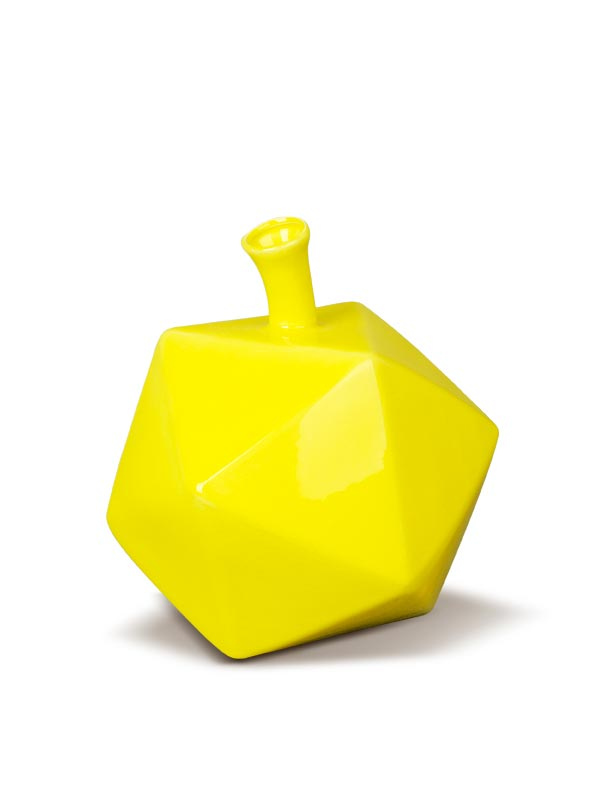 Canary Hexagon Vase