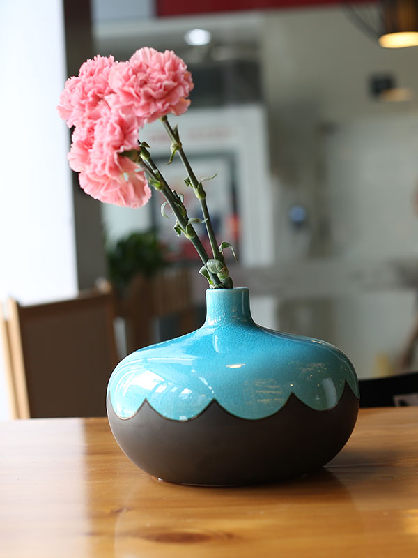 Blue Perry Vase