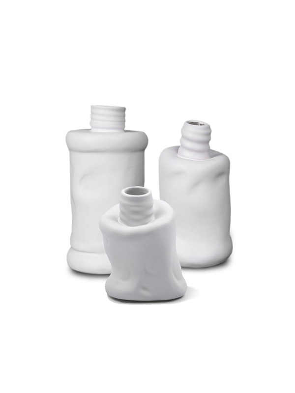 Ceram Empty Bottle Sculpture (Set of 3)