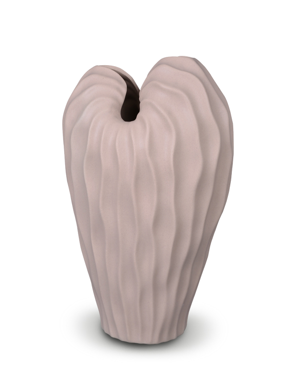 Angel Winged Vase (Beige)