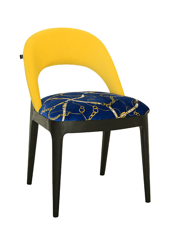 Equestrian Chair (Yellow)