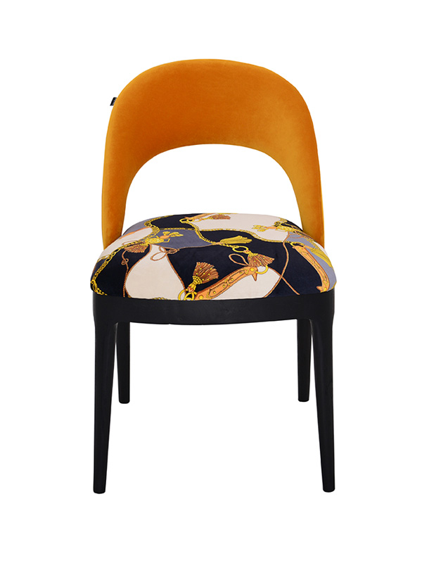 Equestrian Chair (Orange)