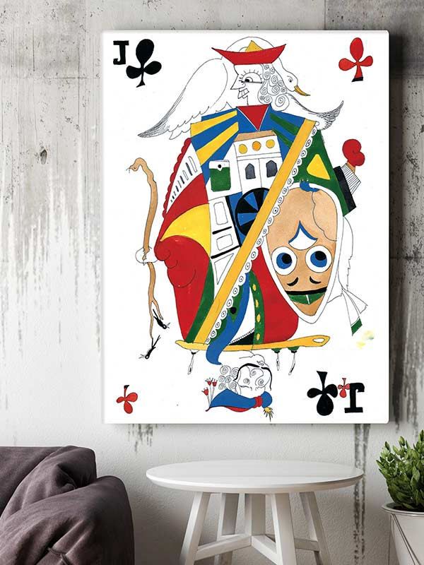 THE JACK OF CLUBS