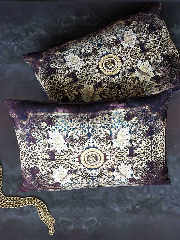 Baroque Rectangular Cushion (Set of 2)