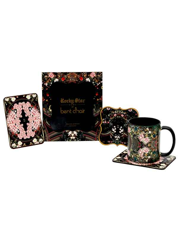 Botanical Bracket Coaster (set Of 4)