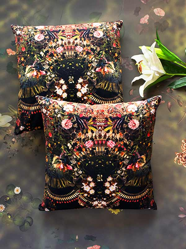 Botanical Square Cushion (set Of 2)