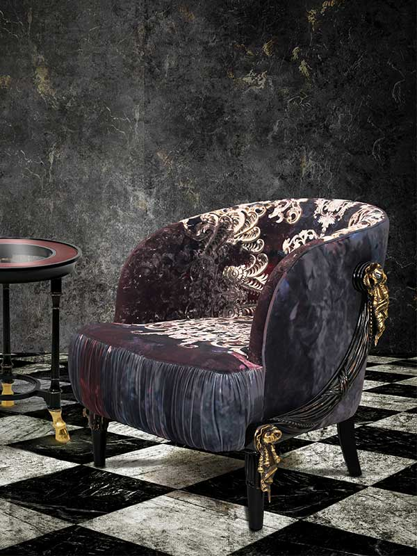 Rocky Star's Baroque Club Chair