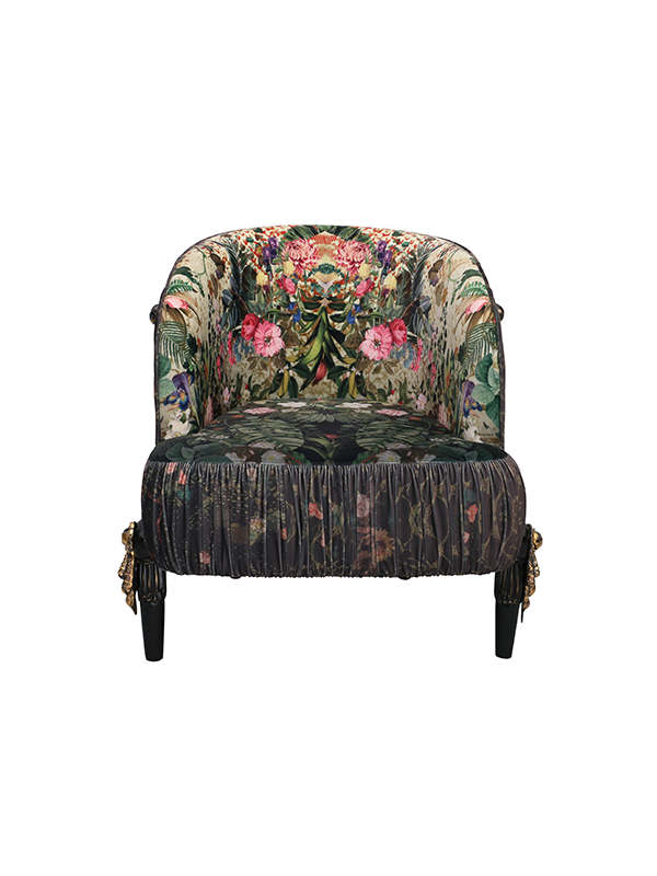 Rocky Star's Botanical Club Chair