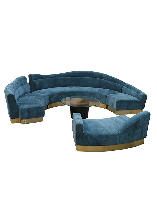 Rocky Star's Maya Blue Sofa