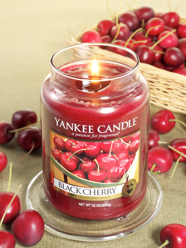 Black Cherry Candle Jar