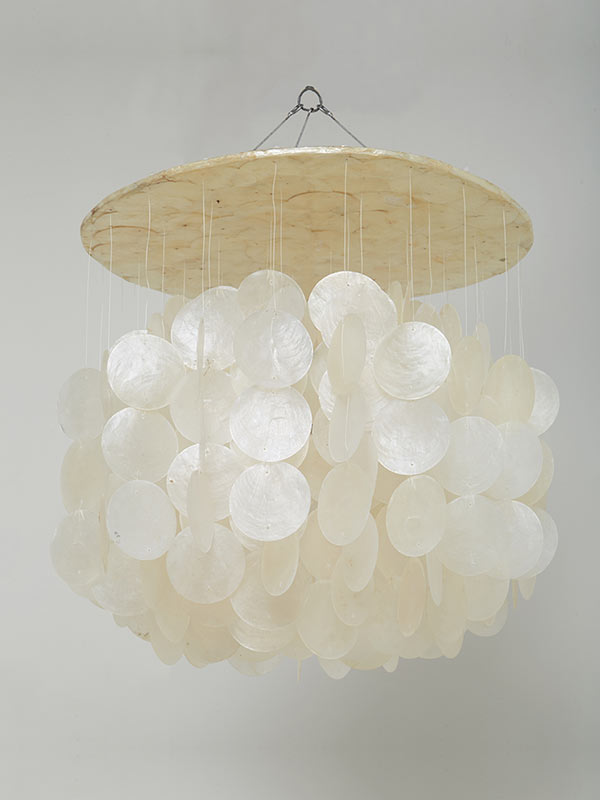 White Chandelier Small