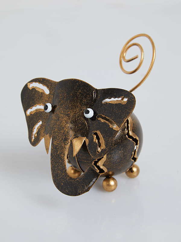 Elephant Holder Gold