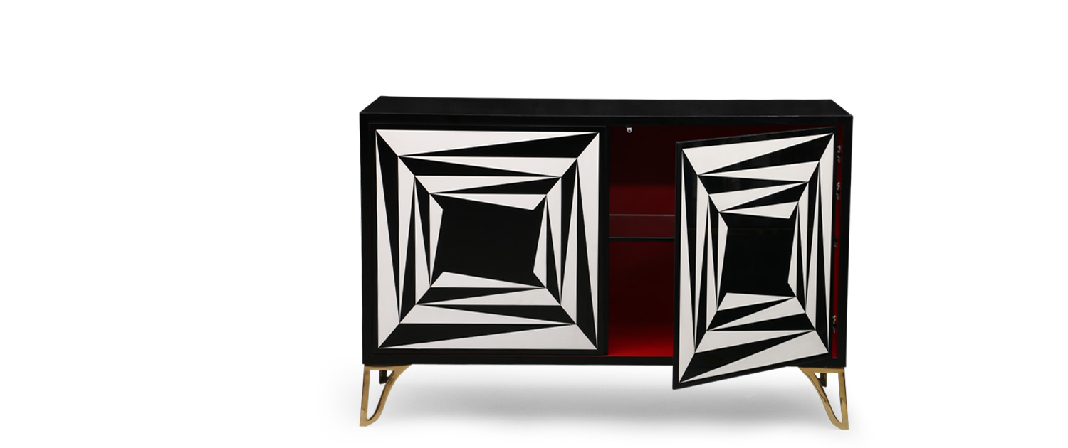 Abstract Sideboard