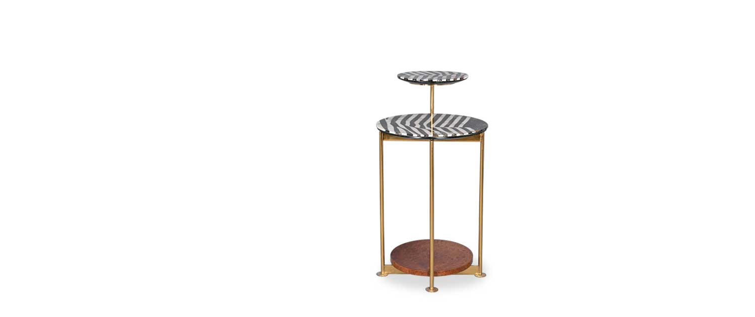 Elision End Table