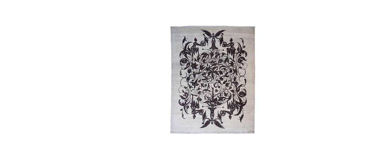 Wilderness Persian Knotted Rug