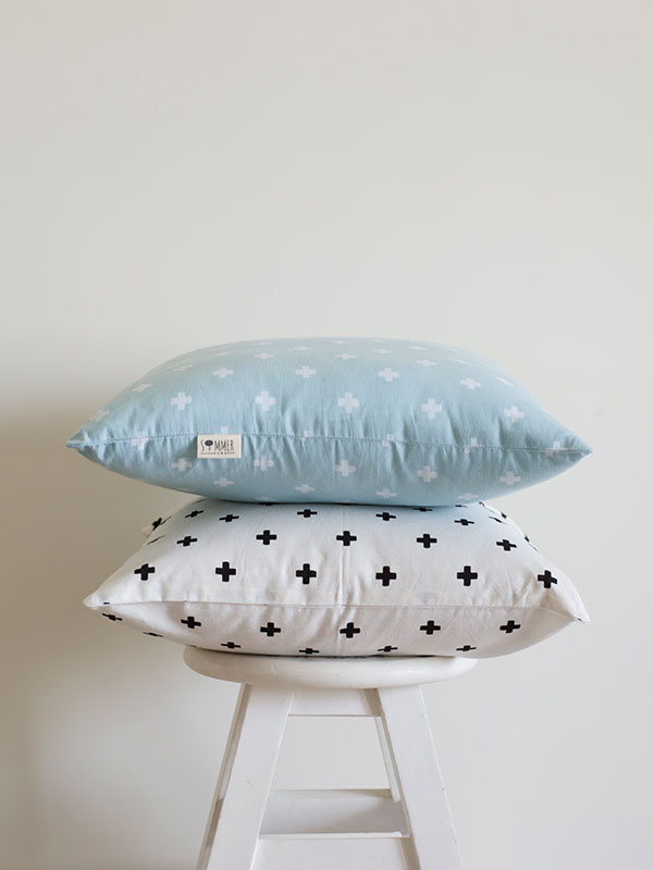 Square Cushion Cover + Nordic Cross