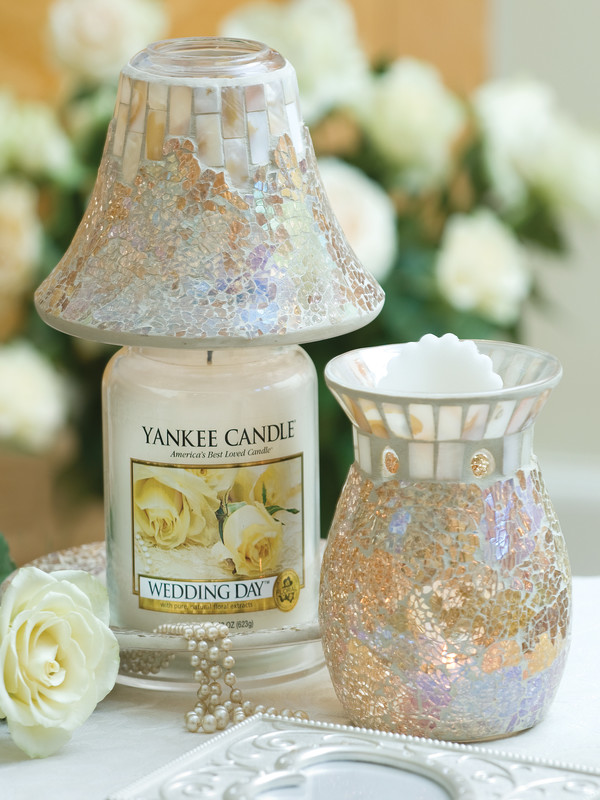 Wedding Day Candle Jar