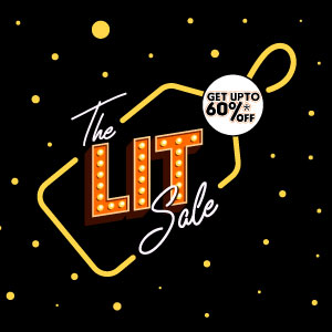 It's Time To Get Your Wish List Ready For The Lit Sale Is Coming Up