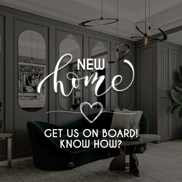 New home, get us on board, Know-how?